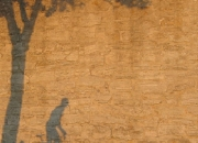 1.`Kvadratisk` 'Skygger på en mur' af Allan Juul