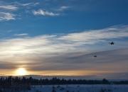 December: `Vinterflyvning`af Kaj B. Kristensen